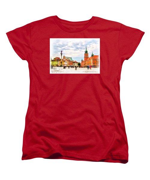 Castle Square, Warsaw Women's T-Shirt (Standard Cut)
