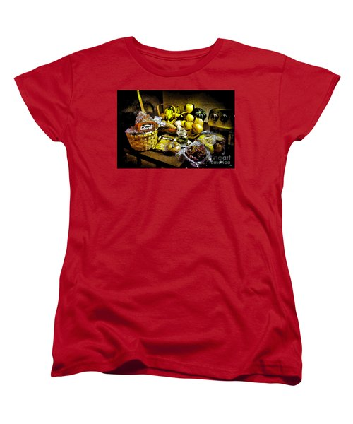Women's T-Shirt (Standard Cut) featuring the photograph Casual Affluence by Tom Cameron