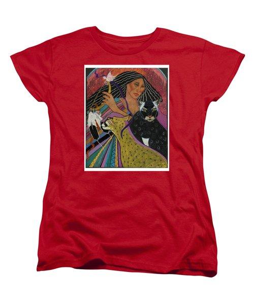 Cat Woman From Palenque Women's T-Shirt (Standard Cut)