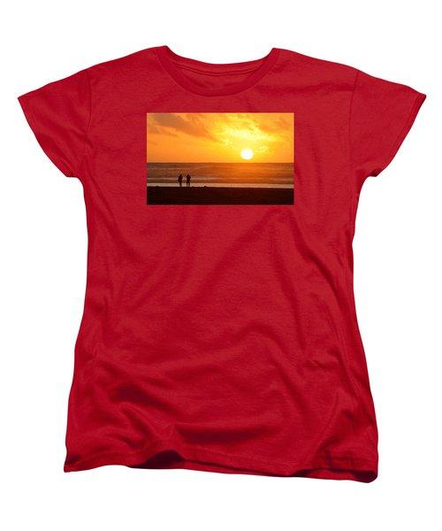 Catching A Setting Sun Women's T-Shirt (Standard Cut)