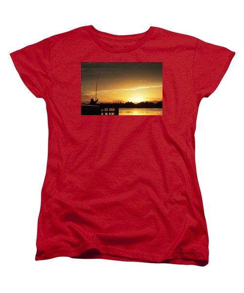 Catching The Sunset Women's T-Shirt (Standard Cut) by Phil Mancuso