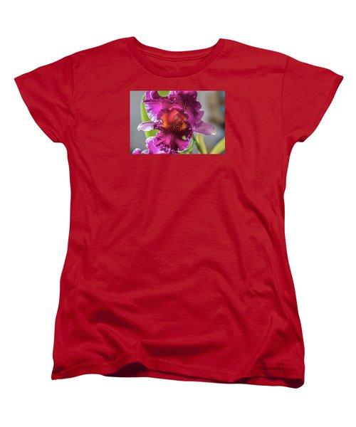 Cattleya Women's T-Shirt (Standard Cut) by Alana Thrower