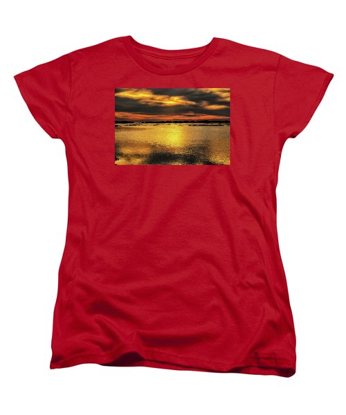Women's T-Shirt (Standard Cut) featuring the photograph Ceader Key Florida  by Louis Ferreira