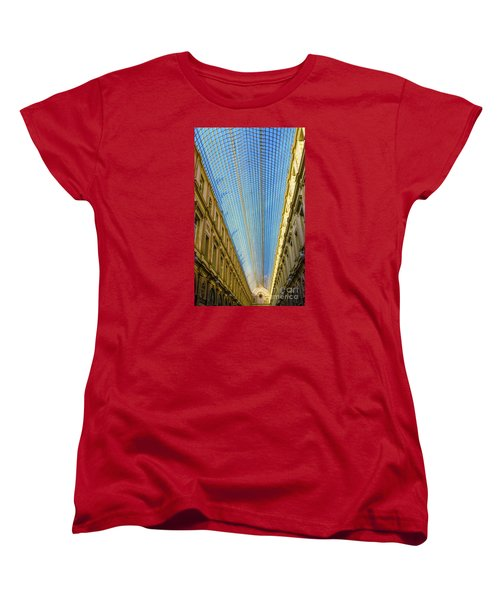 Women's T-Shirt (Standard Cut) featuring the photograph Ceiling  by Pravine Chester