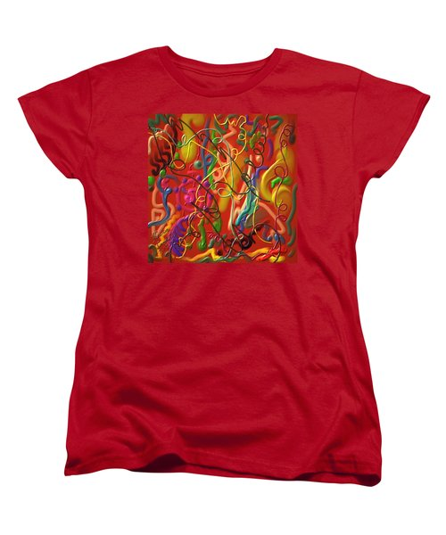 Celebrate The Moment Women's T-Shirt (Standard Cut) by Kevin Caudill