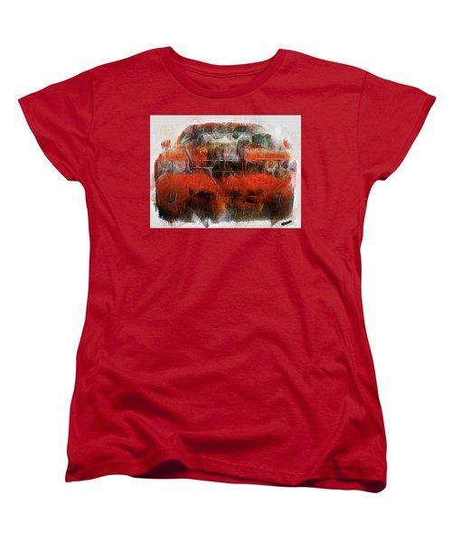 Challenger Wash Women's T-Shirt (Standard Cut) by Michael Cleere