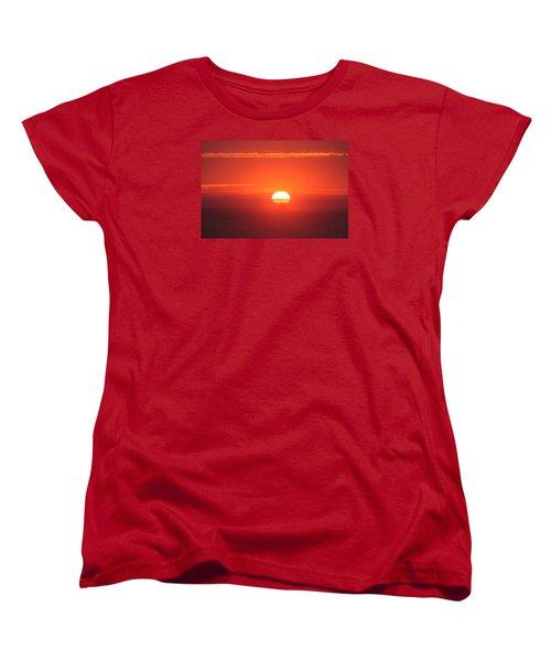 Challenging The Sun Women's T-Shirt (Standard Cut)