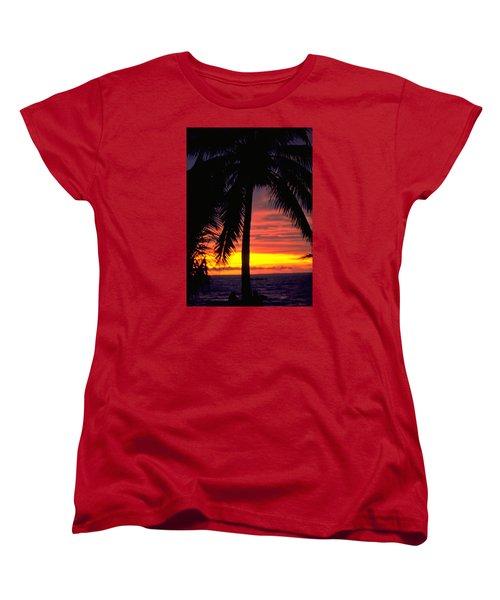 Champagne Sunset Women's T-Shirt (Standard Cut)