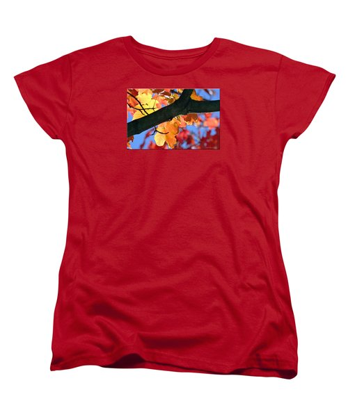 Changing Of The Colors Women's T-Shirt (Standard Cut) by Mikki Cucuzzo
