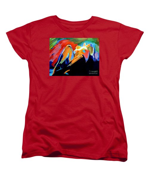 Charge Of The Soul Women's T-Shirt (Standard Cut) by Helena Wierzbicki