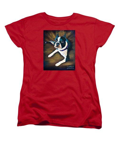 Charles Women's T-Shirt (Standard Cut) by AnnaJo Vahle