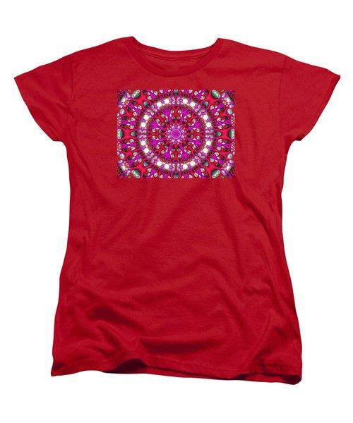 Women's T-Shirt (Standard Cut) featuring the digital art Chemistry by Robert Orinski