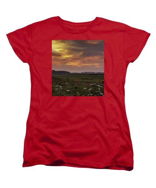 Chesapeake Sunrise II Women's T-Shirt (Standard Cut) by David Cote