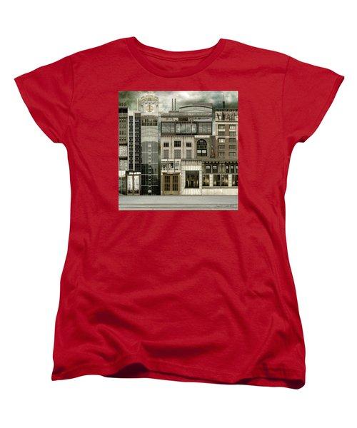 Chicago Reconstruction 2 Women's T-Shirt (Standard Cut) by Joan Ladendorf