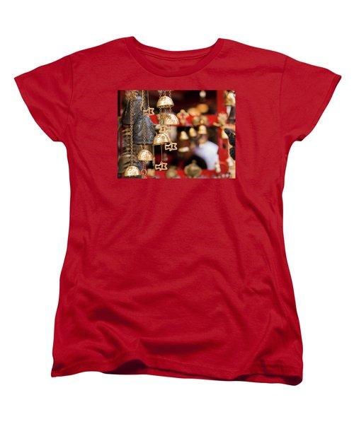 Chime Bell Women's T-Shirt (Standard Cut) by Hyuntae Kim