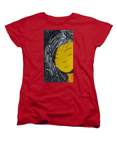 Chinese Japanese Girl Women's T-Shirt (Standard Cut) by Don Koester