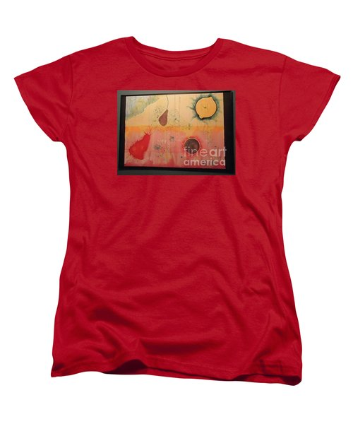 Women's T-Shirt (Standard Cut) featuring the painting Choking by Xn Tyler