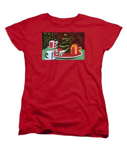 Christmas Holiday Women's T-Shirt (Standard Cut) by Donald J Ryker III
