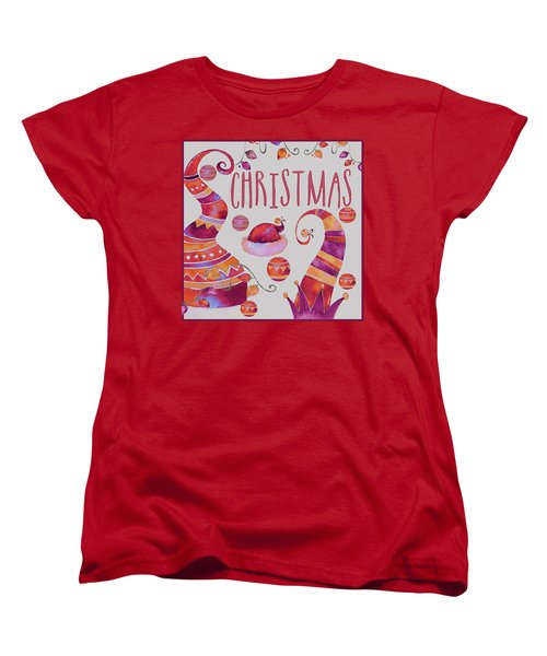 Women's T-Shirt (Standard Cut) featuring the photograph Christmas by Jeff Burgess