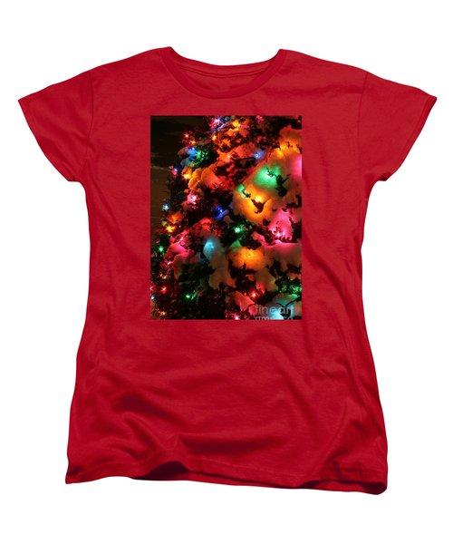 Christmas Lights Coldplay Women's T-Shirt (Standard Cut)