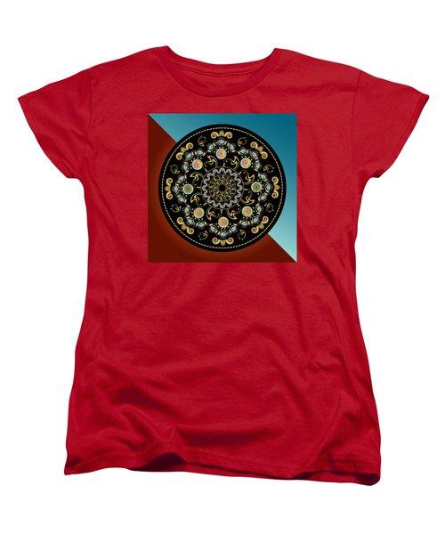 Circularium No 2640 Women's T-Shirt (Standard Cut) by Alan Bennington