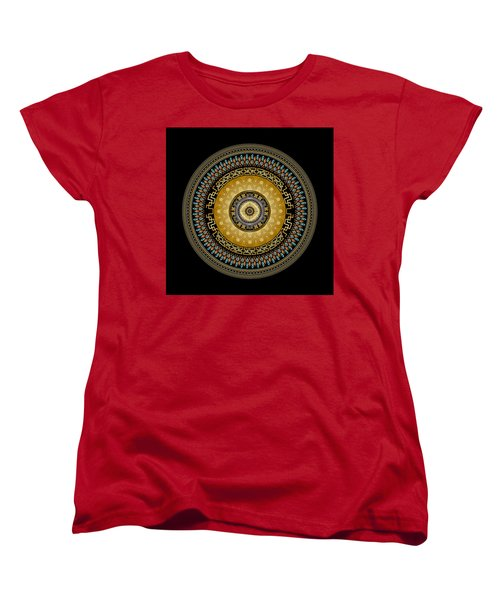 Circularium No 2642 Women's T-Shirt (Standard Cut) by Alan Bennington