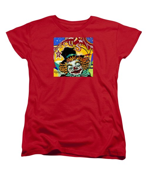 Circus Women's T-Shirt (Standard Cut) by Carol Jacobs