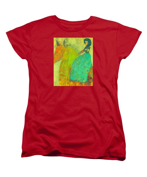 Circus Pony 4 Women's T-Shirt (Standard Cut) by M  Stuart