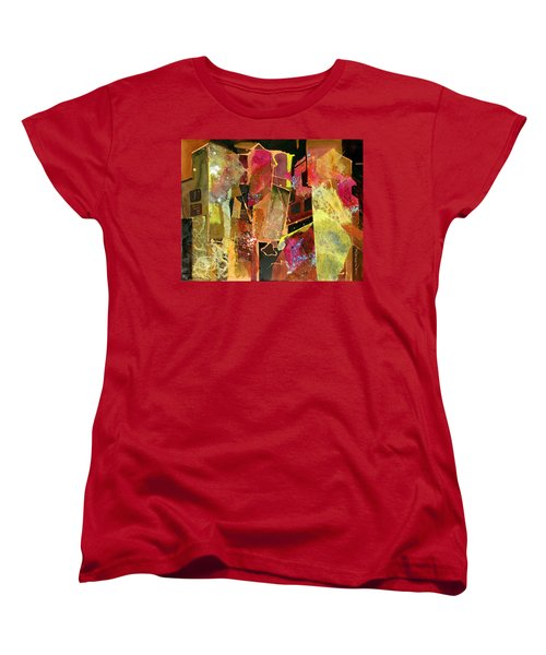 City Colors Women's T-Shirt (Standard Cut) by Rae Andrews
