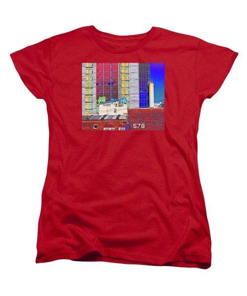 Women's T-Shirt (Standard Cut) featuring the photograph City Space by Vladimir Kholostykh