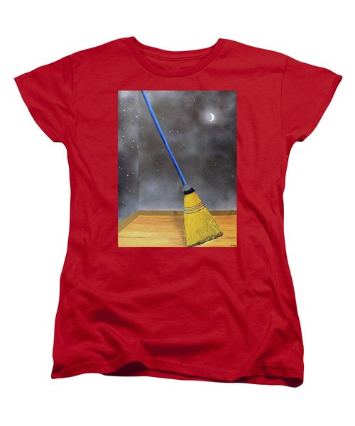 Cleaning Out The Universe Women's T-Shirt (Standard Cut) by Thomas Blood