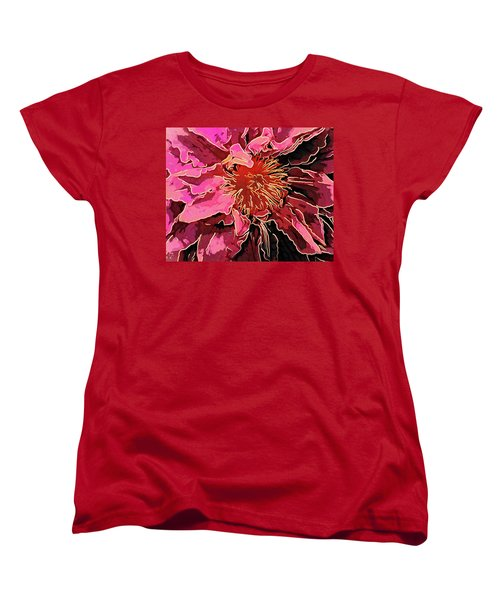 Clematis Up Close And Personal Women's T-Shirt (Standard Cut)