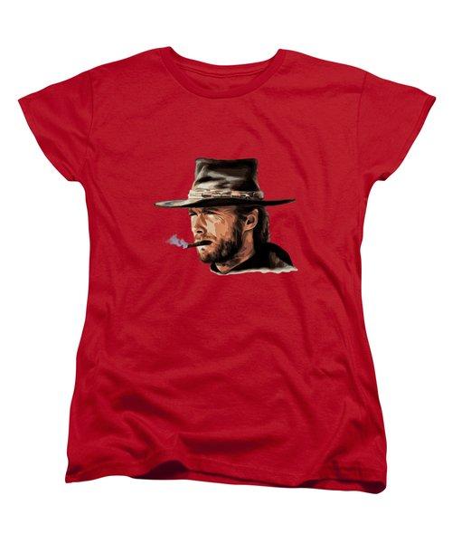Clint Women's T-Shirt (Standard Cut) by Andrzej Szczerski