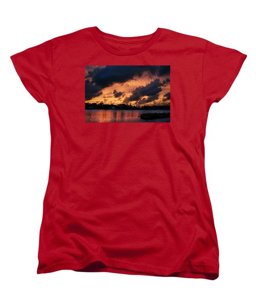 Women's T-Shirt (Standard Cut) featuring the photograph Cloudscape by Laura Fasulo