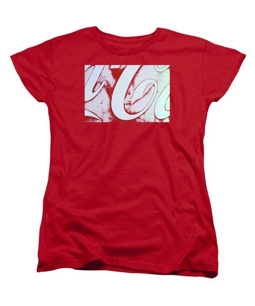 Coke 3 Women's T-Shirt (Standard Cut) by Laurie Stewart
