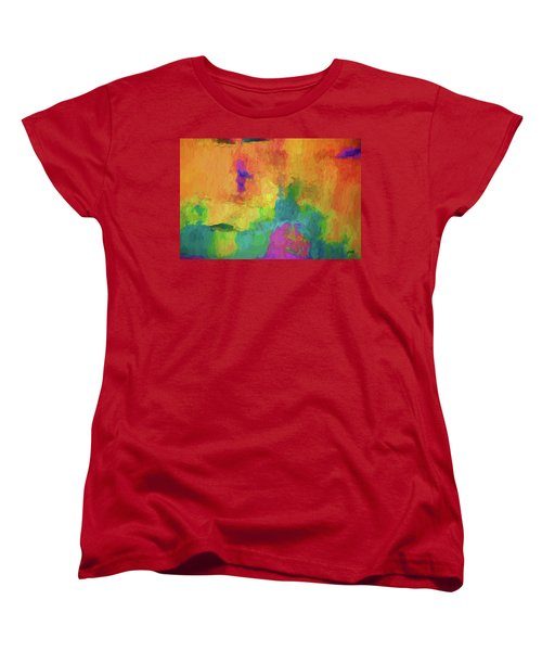 Color Abstraction Xxxiv Women's T-Shirt (Standard Cut)