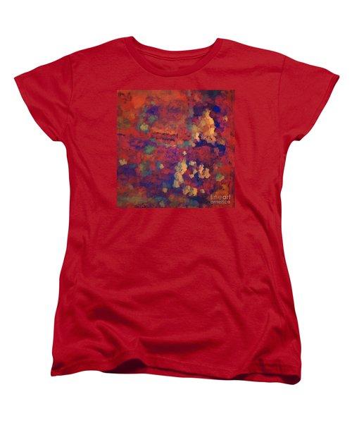 Color Abstraction Xxxv Women's T-Shirt (Standard Cut) by David Gordon