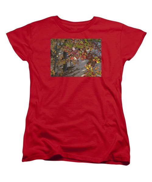 Color In The Dunes Women's T-Shirt (Standard Cut) by Tara Lynn