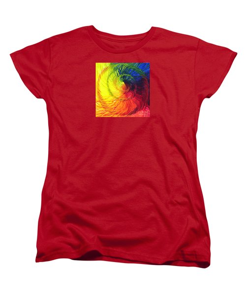 Color Women's T-Shirt (Standard Cut) by Jeanette Jarmon