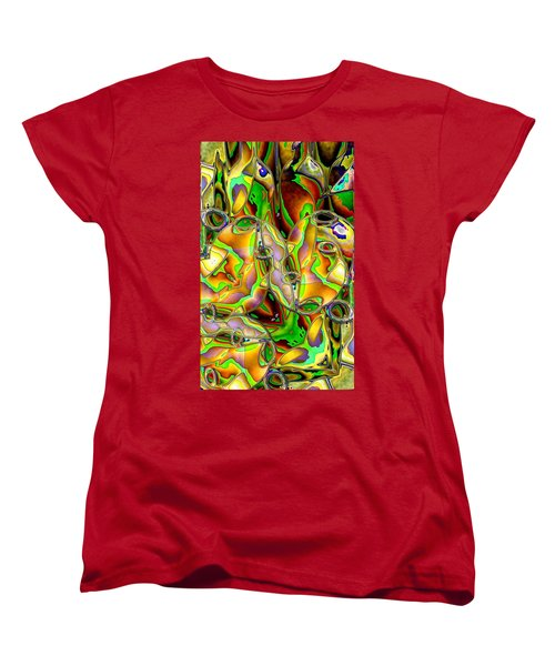 Colored Film Women's T-Shirt (Standard Cut) by Ron Bissett