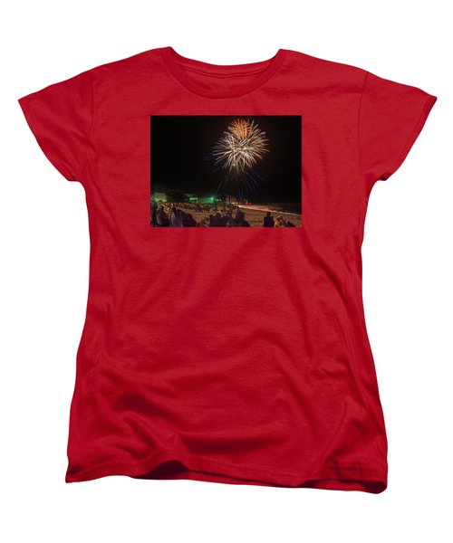 Women's T-Shirt (Standard Cut) featuring the photograph Colorful Kewaunee, Fourth by Bill Pevlor