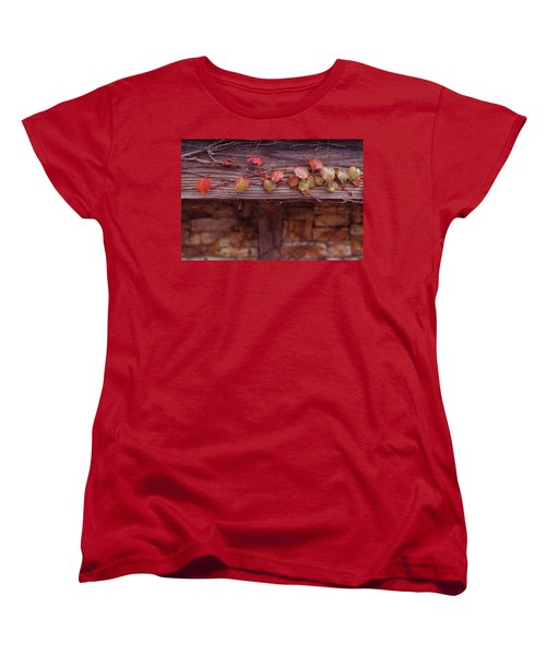 Colorful Tree Leaves Changing Color For Auyumn,fall Season In Oc Women's T-Shirt (Standard Cut) by Jingjits Photography
