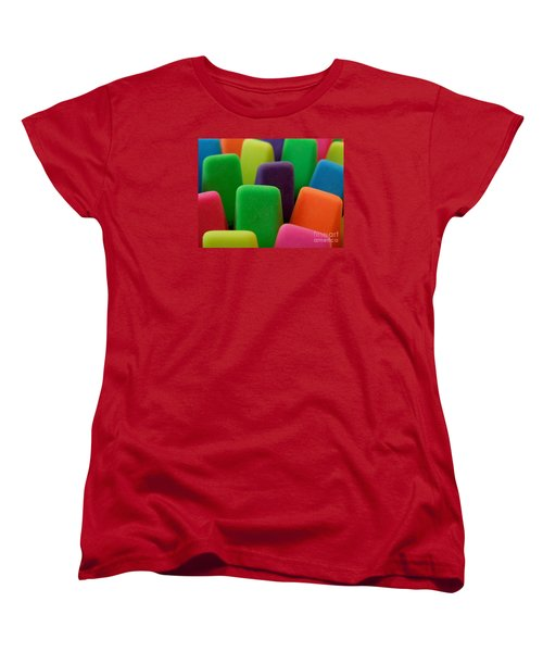 Women's T-Shirt (Standard Cut) featuring the photograph Colors by Chad and Stacey Hall