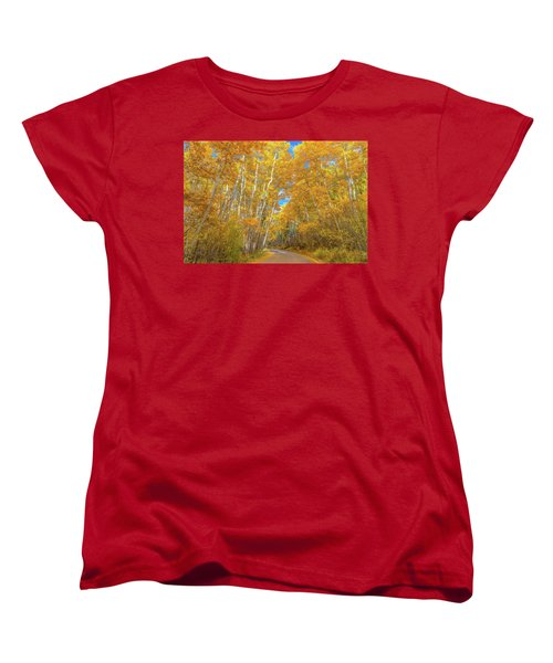 Women's T-Shirt (Standard Cut) featuring the photograph Colors Of Fall by Darren White