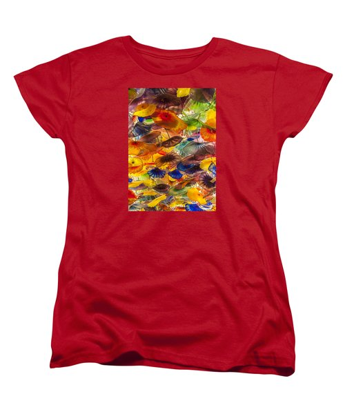 Colors Women's T-Shirt (Standard Cut) by Tyson and Kathy Smith
