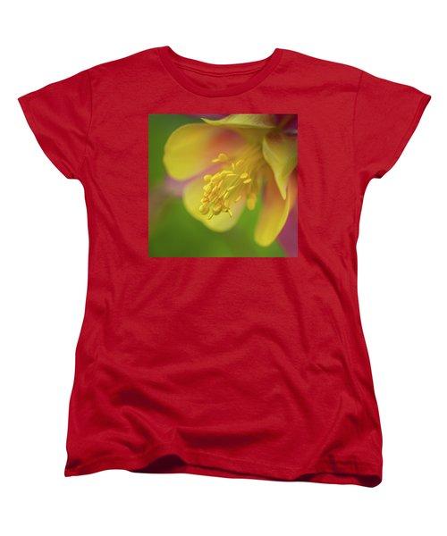 Women's T-Shirt (Standard Cut) featuring the photograph Columbine by Greg Nyquist