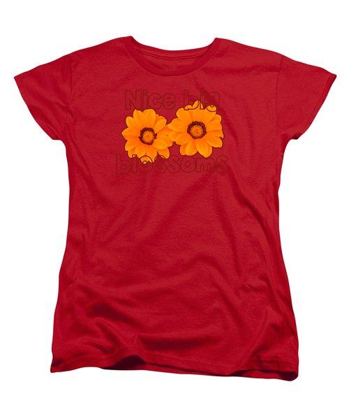 Comely Calendula Women's T-Shirt (Standard Cut) by Richard Farrington