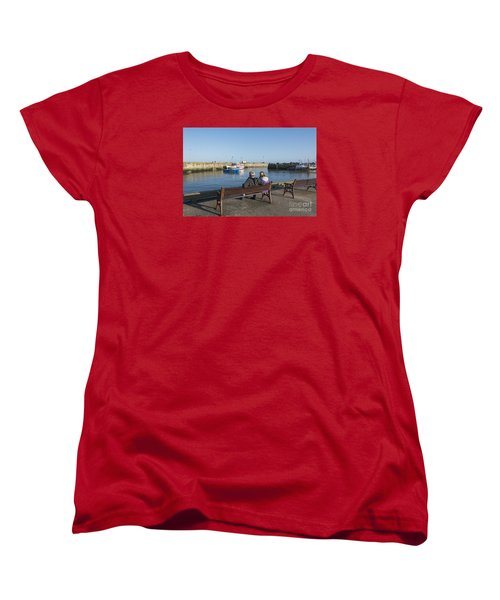 Comings And Goings Women's T-Shirt (Standard Cut) by David  Hollingworth