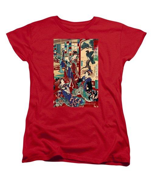 Competing Brothels 1876 Women's T-Shirt (Standard Cut) by Padre Art