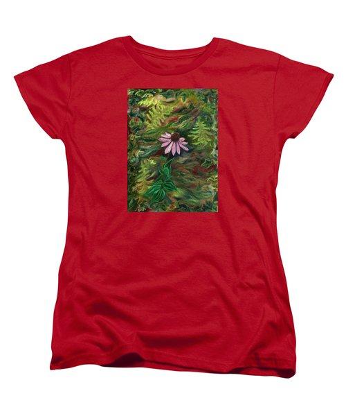 Coneflower Women's T-Shirt (Standard Cut) by FT McKinstry